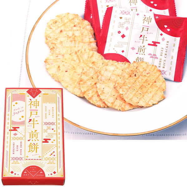 ◎神戸牛煎餅 KOBE BEEF RICE CRACKER